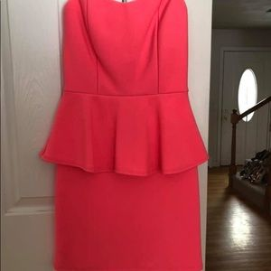 Worn Once! Comfortable Strapless Dress!